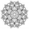 Mandala Livre Gratuit 17 - Mandalas - Coloriages Difficiles tout Imprimer Un Livre Gratuitement