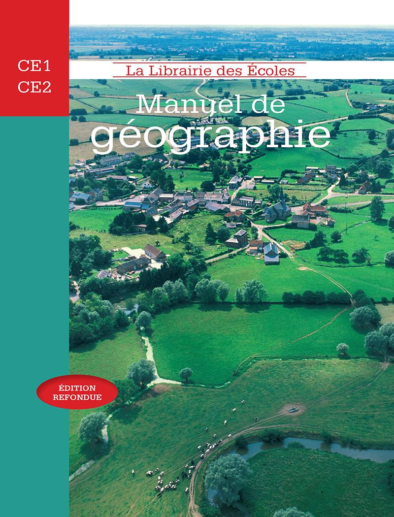 Manuel De Géographie - Ce1-Ce2 pour Carte De France Ce1