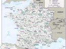 Map Of France : Departments Regions Cities - France Map dedans Map De France Regions