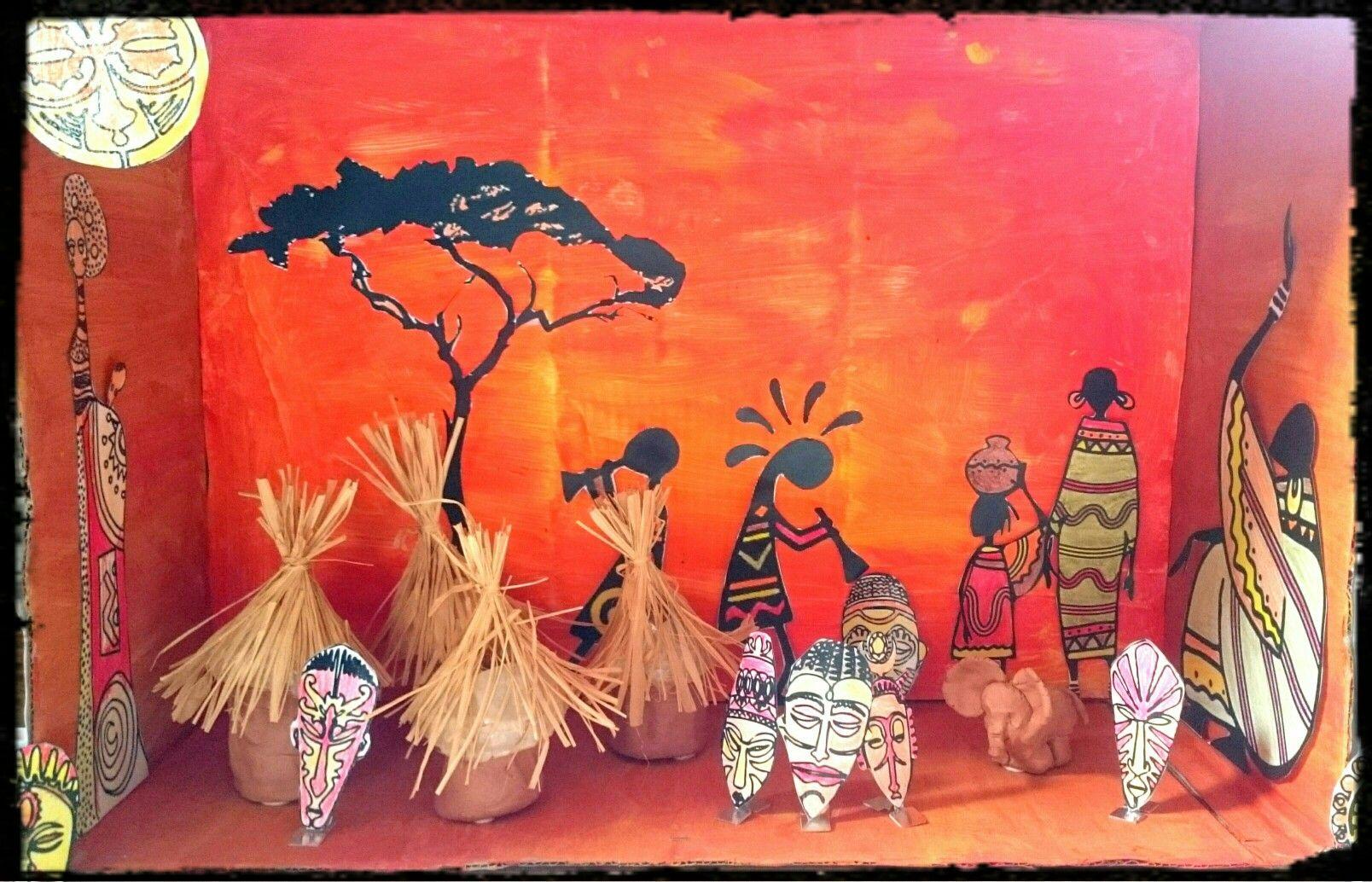 Maquette Afrique | Activité Manuelle Afrique, Afrique à Activité Manuelle Afrique