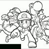Mario Bros #87 (Jeux Vidéos) – Coloriages À Imprimer dedans Jeux Gratuit De Dessin A Colorier