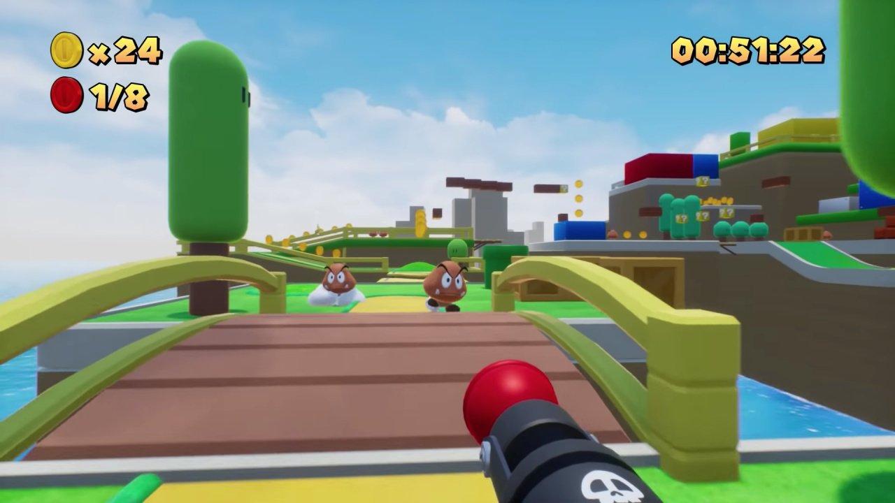 Mario Fait Un Excellent Jeu De Tir À La Première Personne tout Jeux De Tire Gratuit