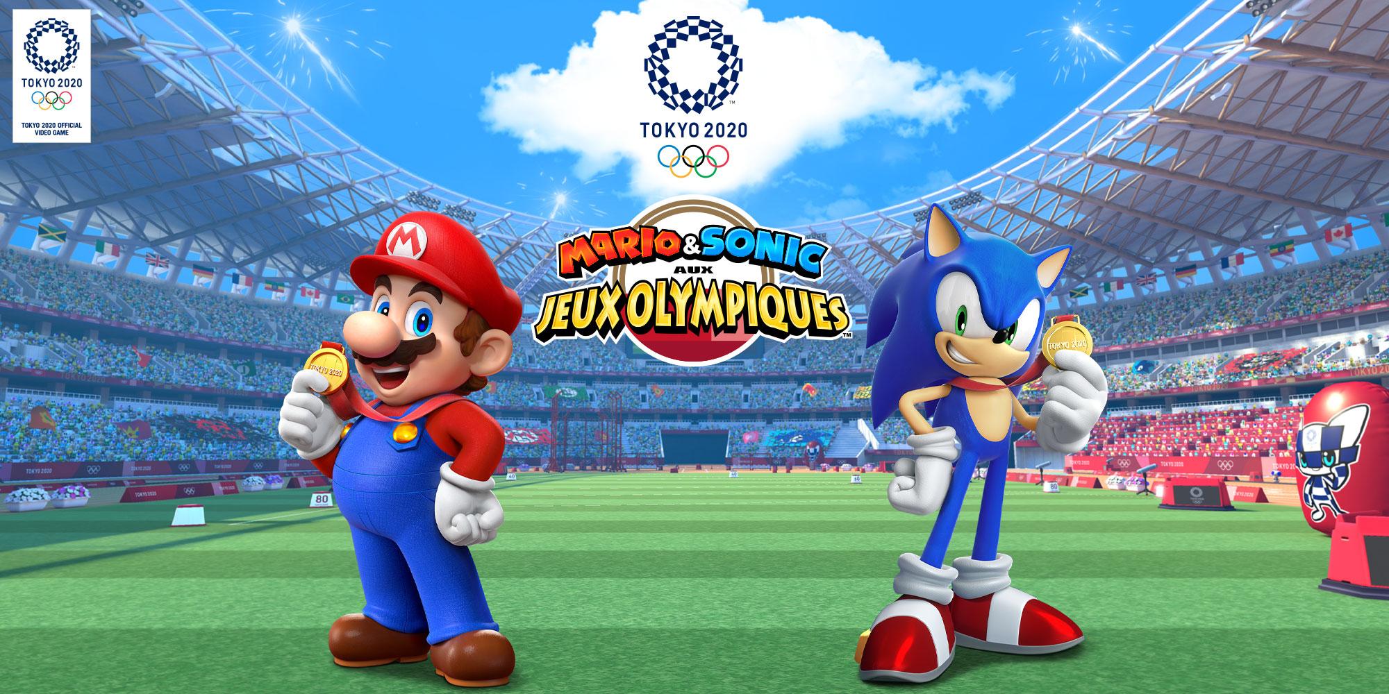 Mario & Sonic Aux Jeux Olympiques De Tokyo 2020 | Nintendo tout Jeux De Personnage Gratuit