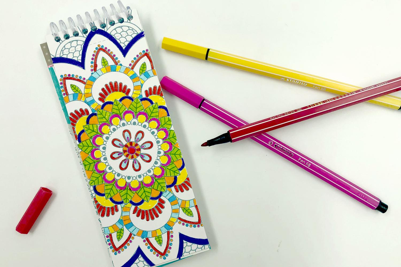 Marques-Pages À Colorier - 24 Coloriages - Mandalas - 10 Doigts à Marque Page À Colorier