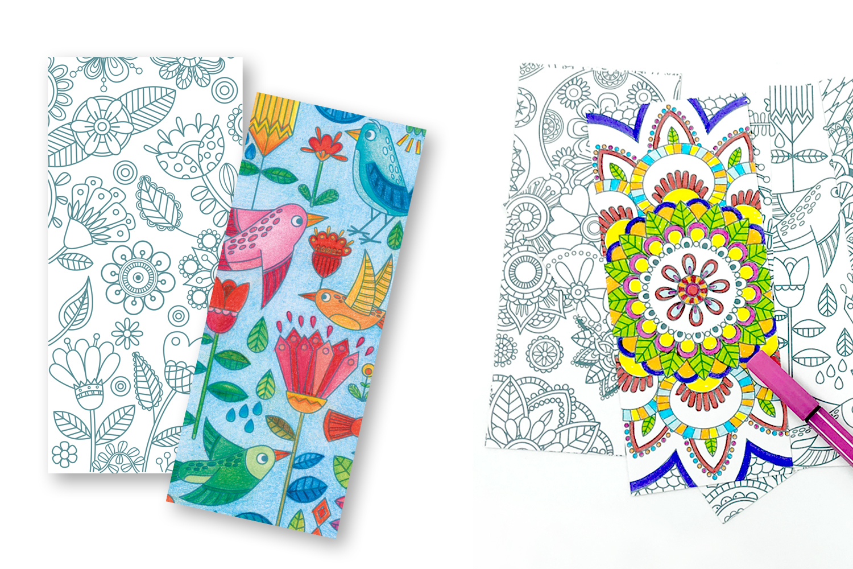 Marques-Pages À Colorier - 24 Coloriages - Mandalas - 10 Doigts tout Marque Page À Colorier