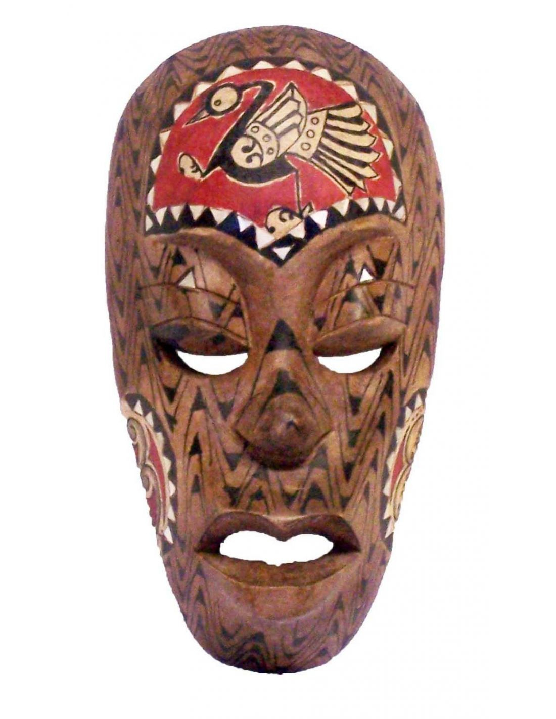 Masque Africain 20 Cm Lombok avec Masque Afriquain