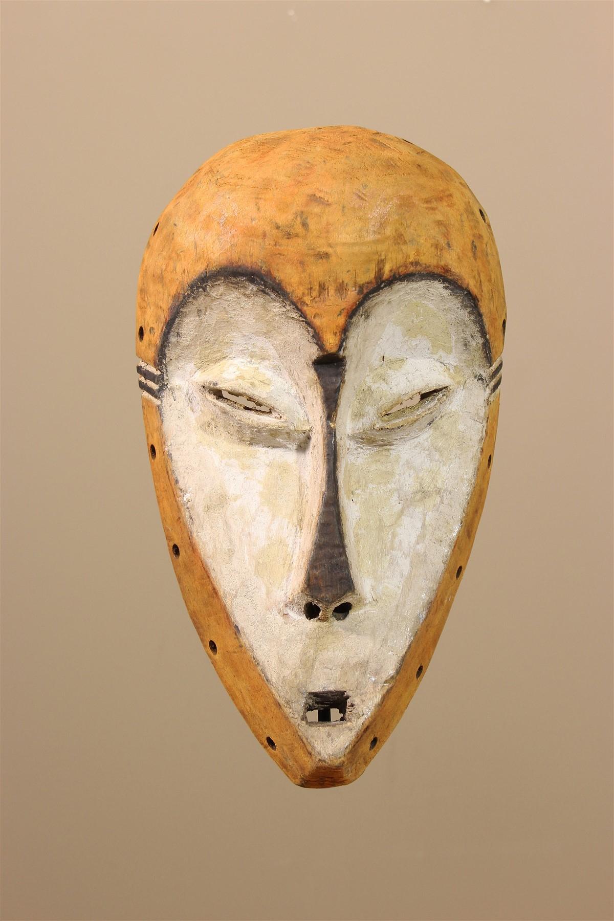 Masque Africain Lega avec Masque Afriquain
