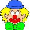 Masque Clown À Imprimer destiné Dessin De Clown En Couleur