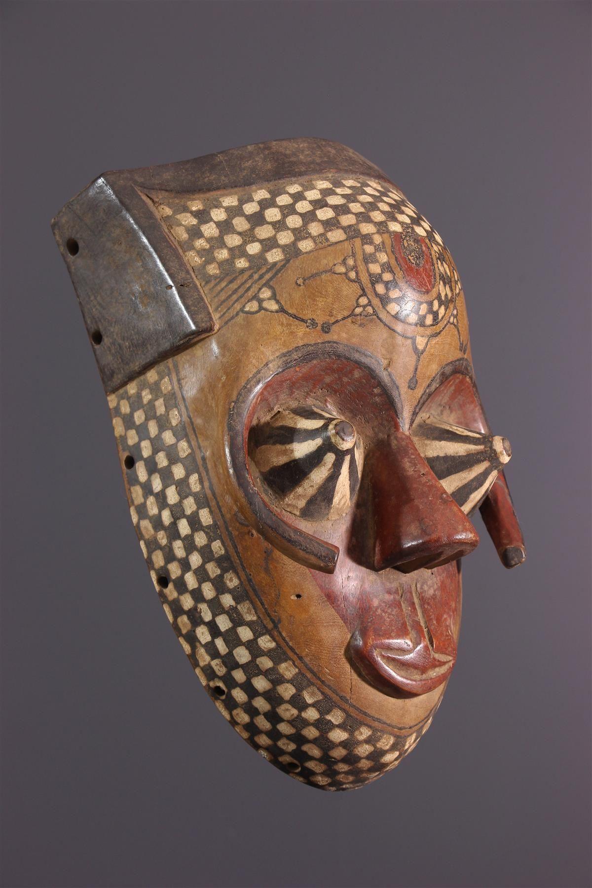 Masque Kuba Pwoom Itok, 2020 dedans Masque Afriquain