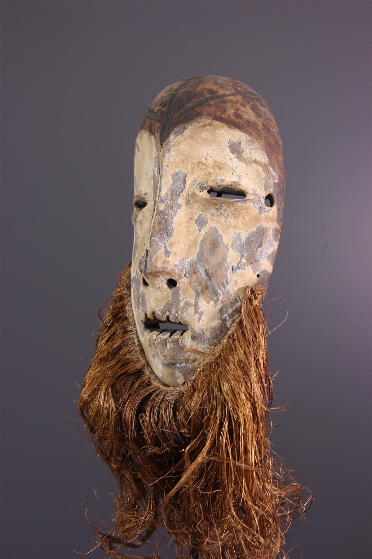 Masque Lega avec Masque Afriquain