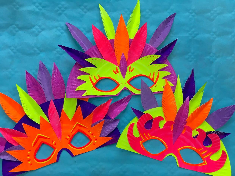 Masques De Carnaval [Video] tout Masque Maternelle