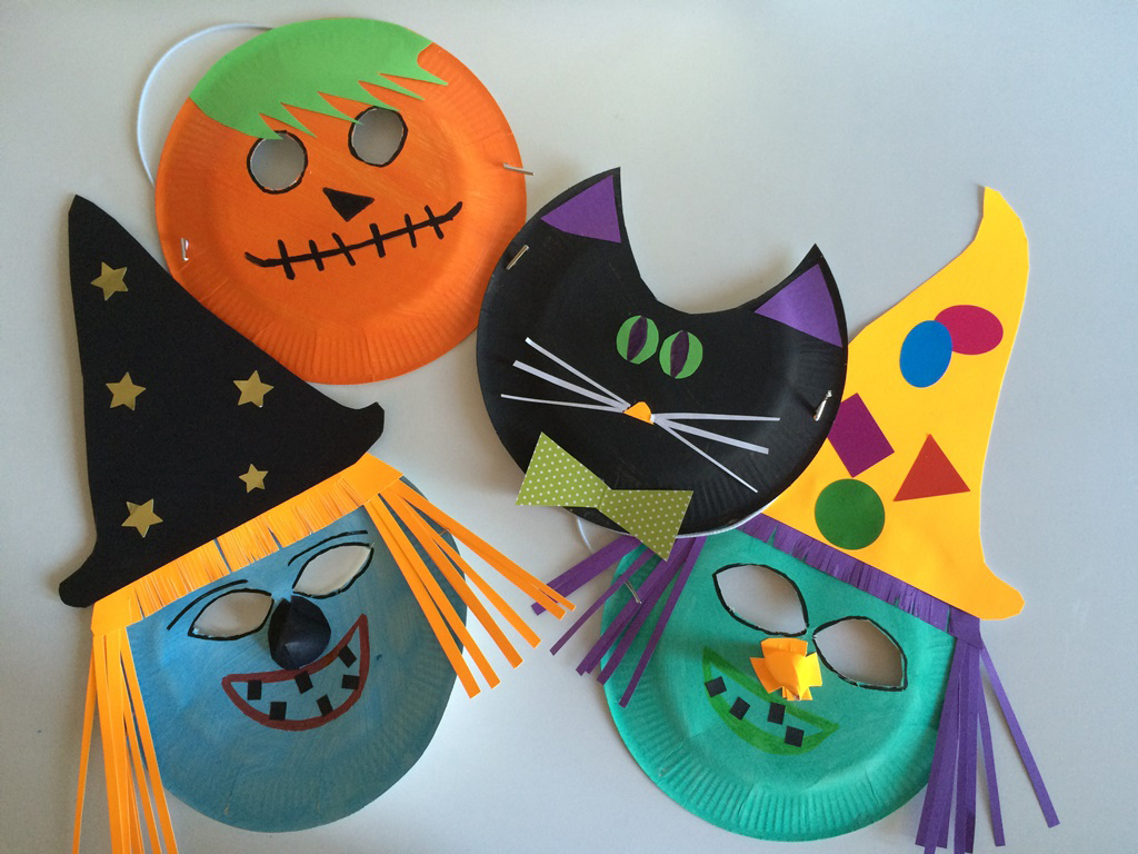Masques D'halloween - Les Pious De Chatou (Assistante intérieur Masque Maternelle