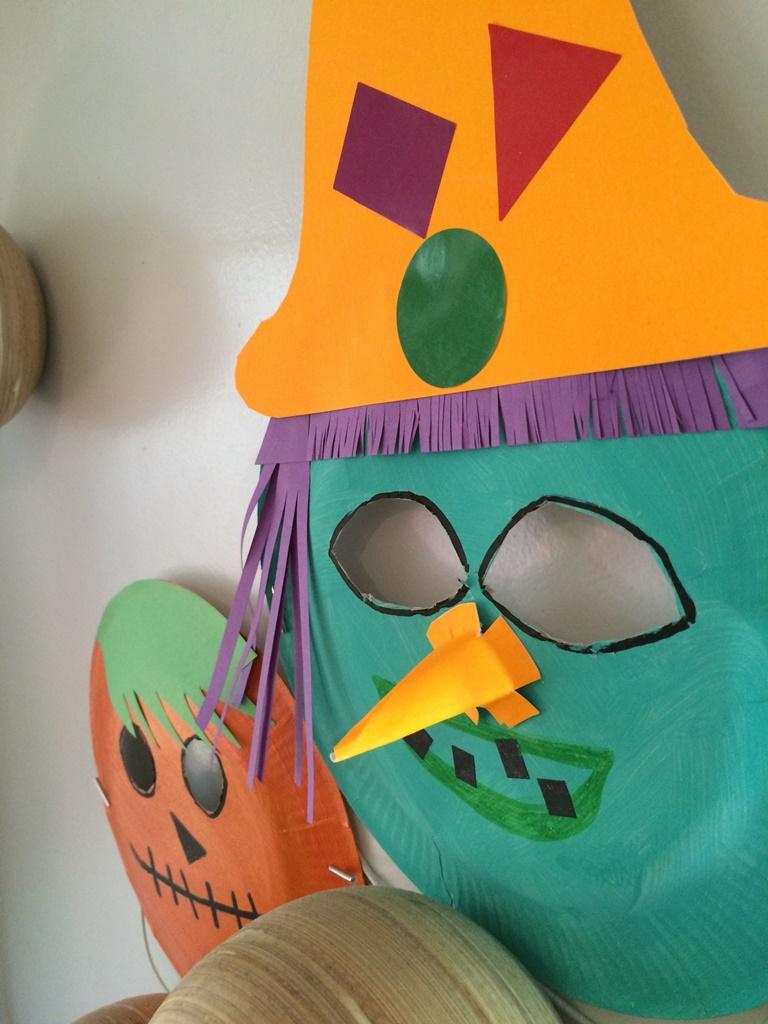 Masques D'halloween - Les Pious De Chatou (Assistante tout Masque Maternelle