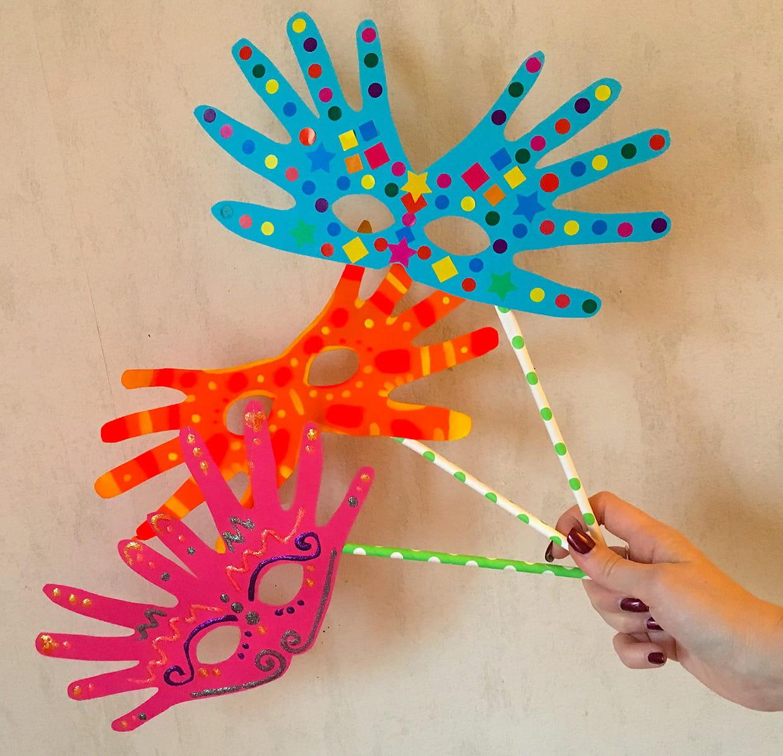 Masques Faciles Pour Le Carnaval [Video] pour Masque Maternelle