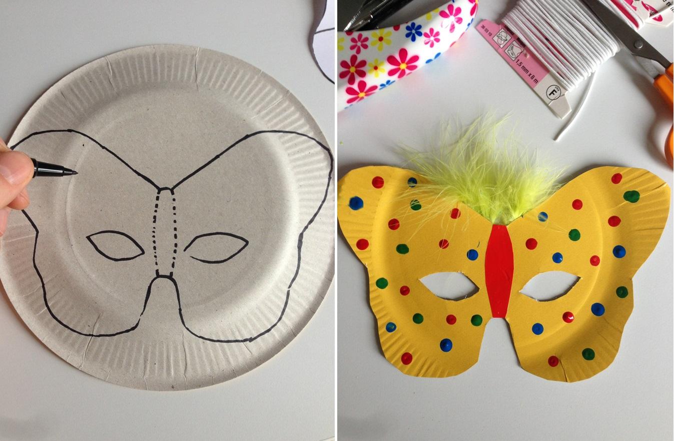 Masques Papillon - Les Pious De Chatou (Assistante destiné Masque Maternelle