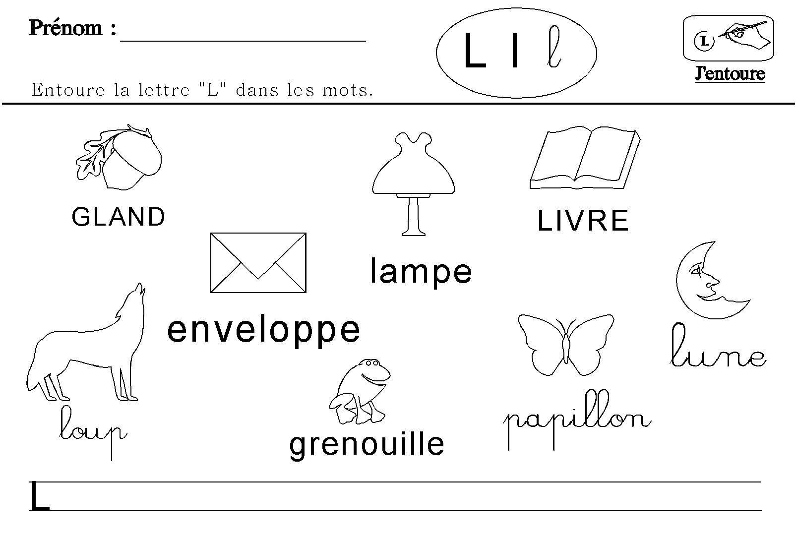 Maternelle : Lecture Des Lettres De L'alphabet | Lecture pour Activités Sur Les Lettres De L Alphabet En Maternelle