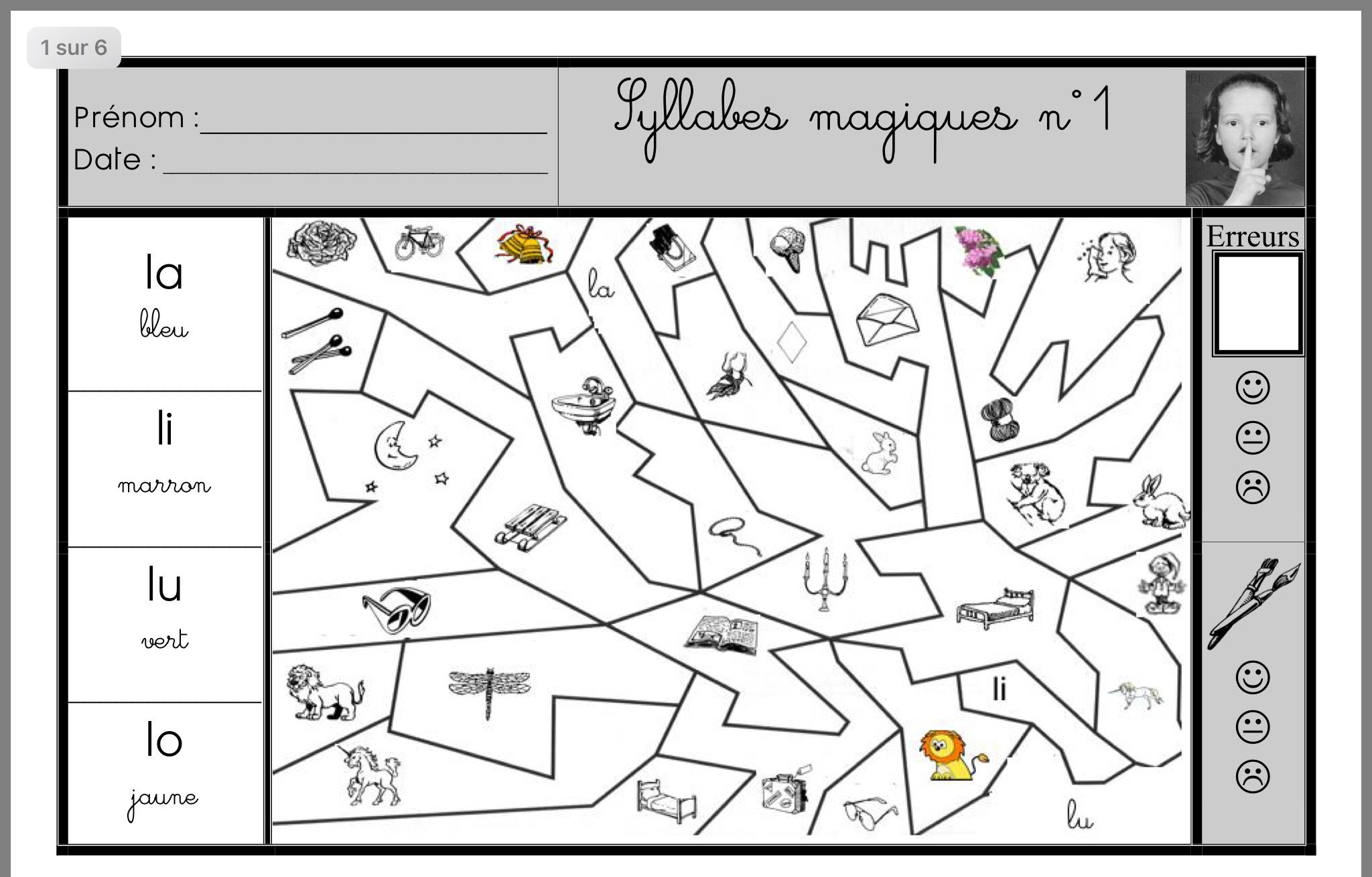 Mathe-Bild Von Anne Pineau Auf Phono dedans Coloriage Magique Gs Cp