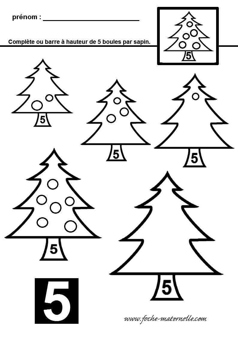Mathématiques : Conservation Des Quantités En Maternelle destiné Noel Maternelle Grande Section