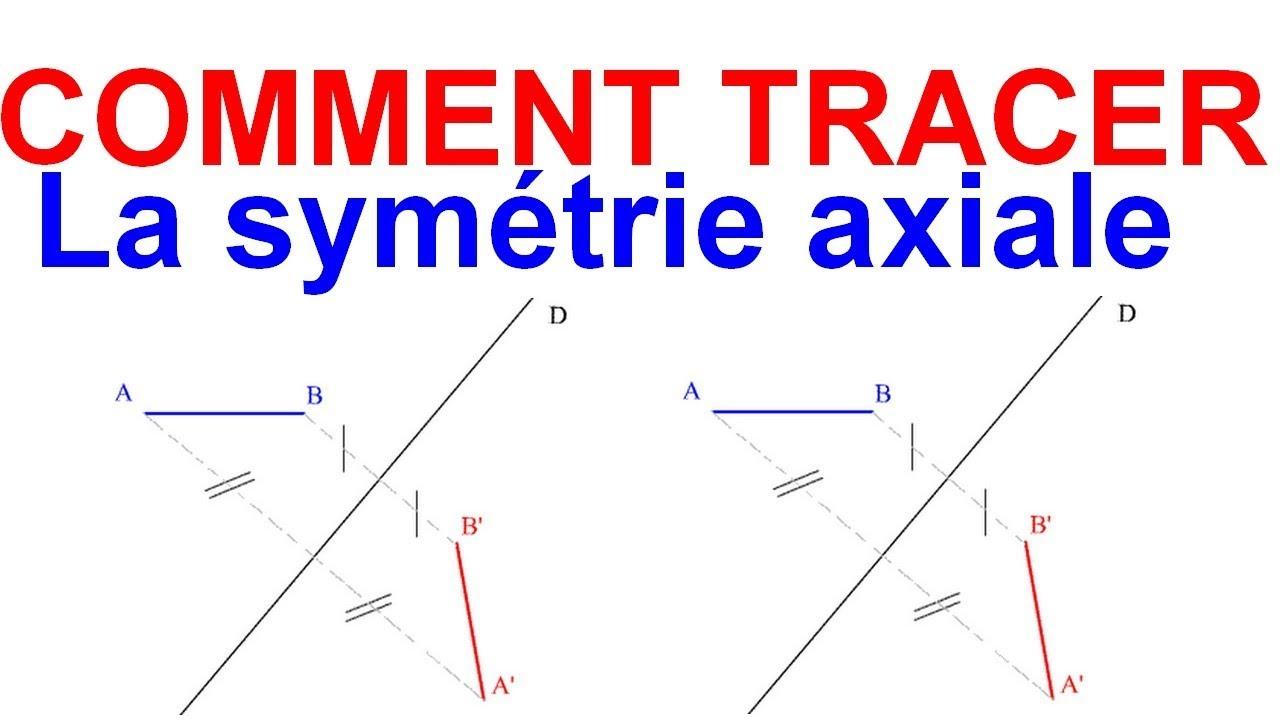 Maths 6Ème - Les Bases De La Géométrie : La Symétrie Axiale Exercice 23 concernant Symétrie Axial