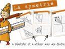 Maths Cycle3 : La Symétrie – Entrainement | Bout De Gomme à Symétrie Ce1 Exercices