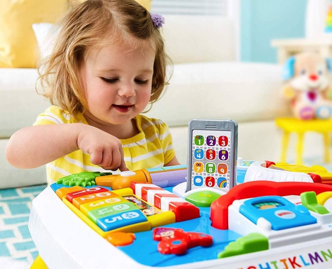 Meilleure Table D'éveil Pour Bébé : Comparatif Et Avis 2020 pour Bebe 6 Mois Eveil