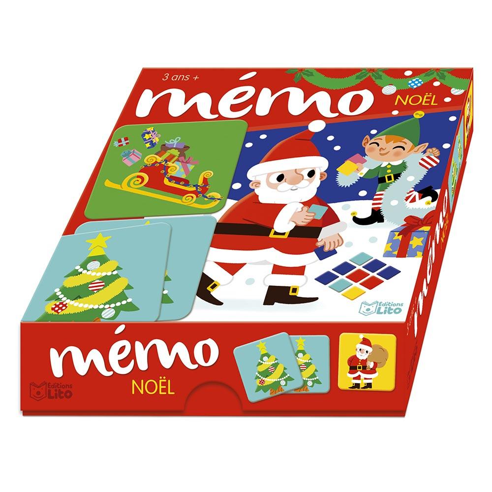 Mémo Noël - Jeu De Memory Lito avec Jeu Noel Maternelle