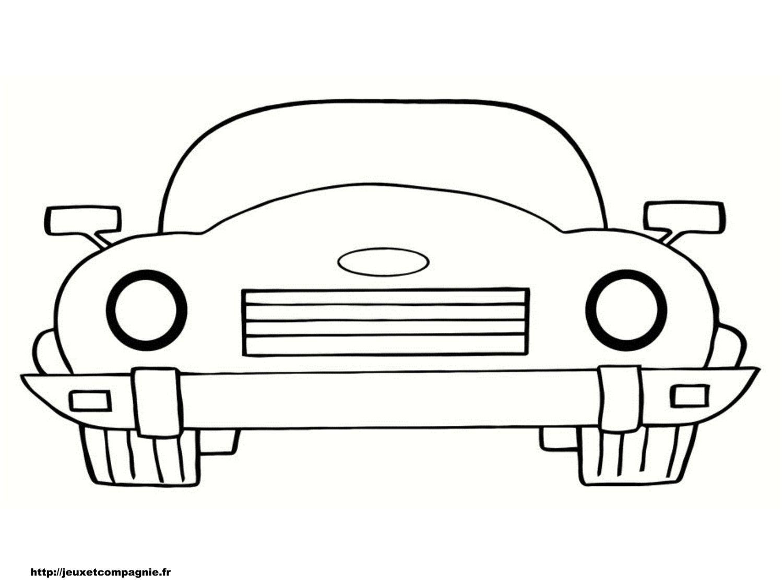 Ment Dessiner Une Voiture Facile | Cars Coloring Pages serapportantà Voiture Facile À Dessiner