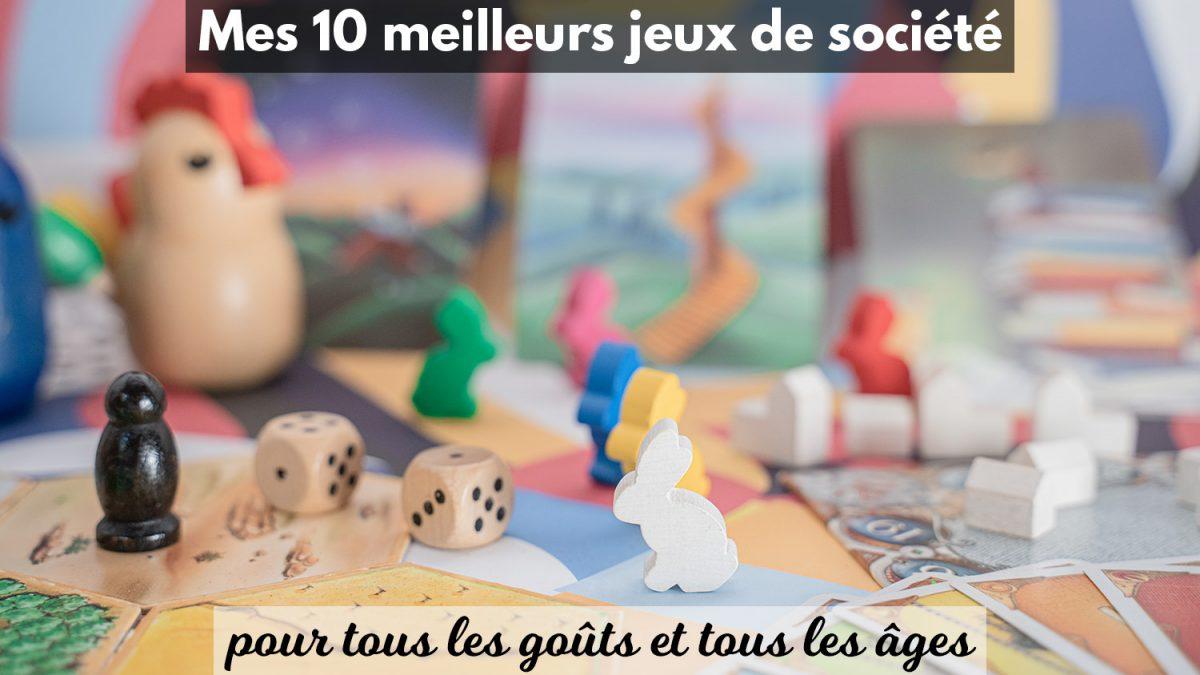 Mes 10 Meilleurs Jeux De Société Testés & Approuvés En encequiconcerne Jeux De Société À Partir De 4 Ans