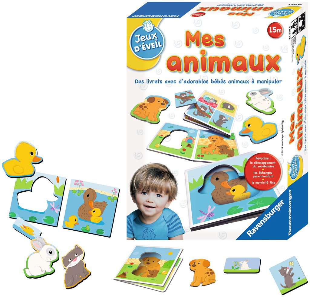 Mes Animaux | Jeux Pour Enfants | Jeux | Produits | Ca-Fr à Jeux Enfant Animaux