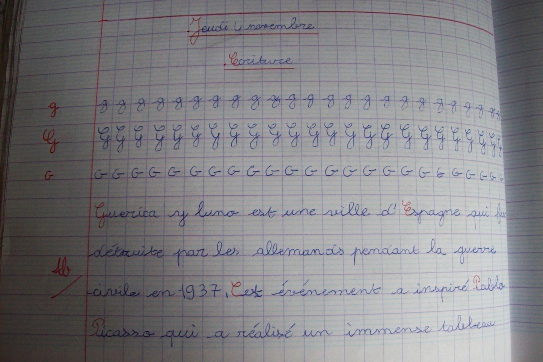 Mes Fiches D'écriture - Les Trouvailles De Karinette encequiconcerne Ecriture Ce2 À Imprimer