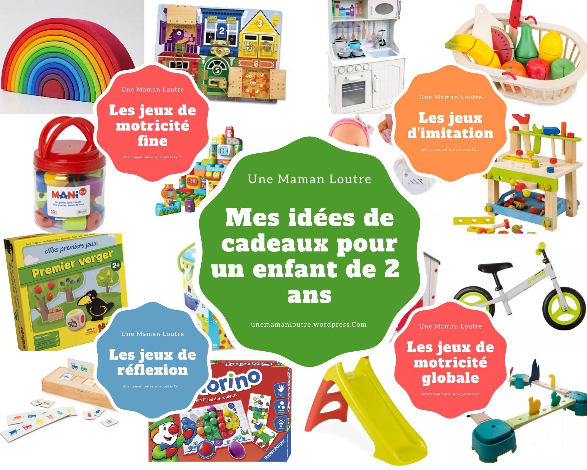 Mes Idées De Cadeaux Pour Un Enfant De 2 Ans | Les Petits intérieur Jeu Pour Petit Garcon De 2 Ans