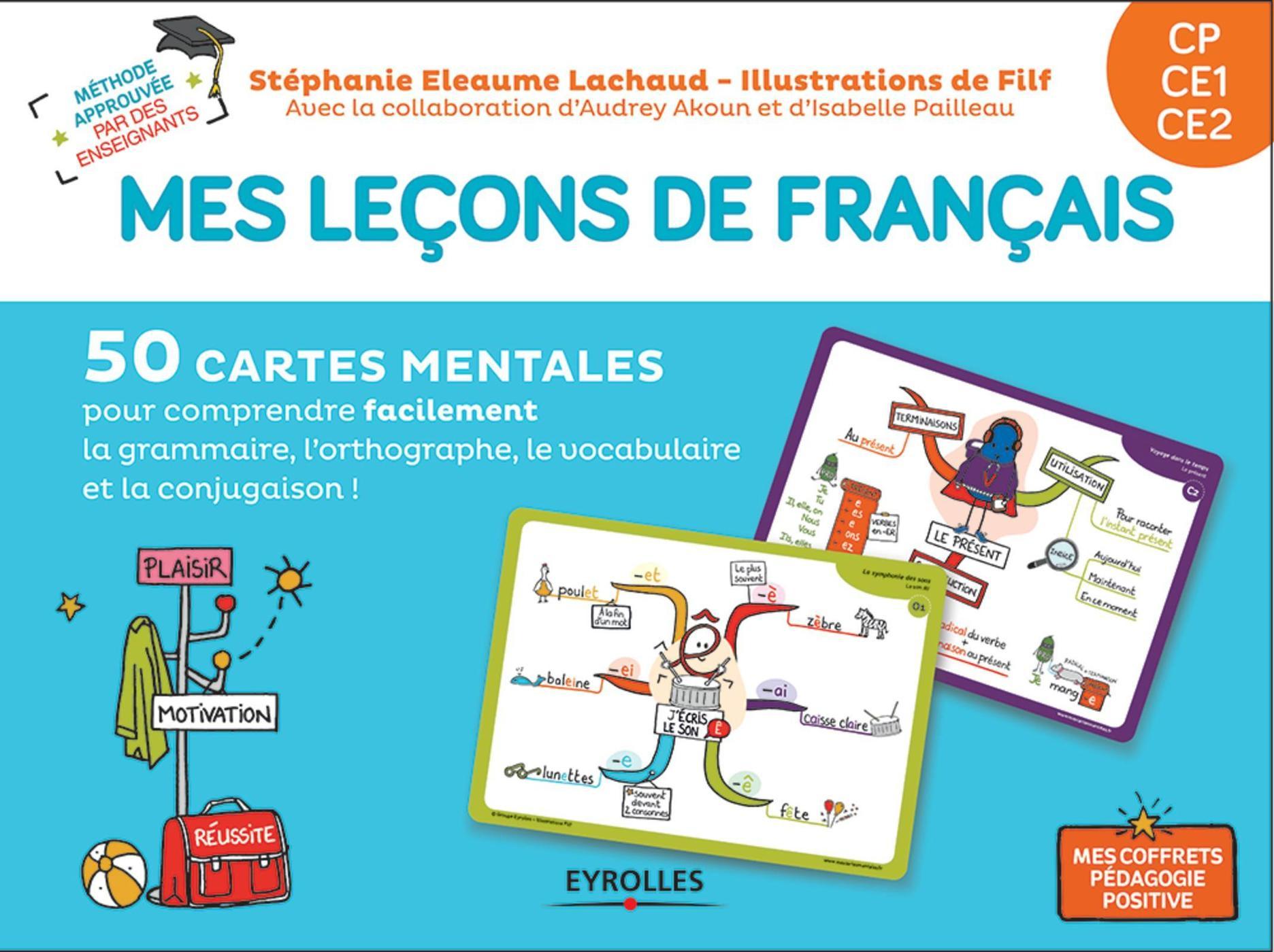 Mes Leçons De Français - Cp, Ce1, Ce2 - S.eleaume-Lachaud, Filf, -  Librairie Eyrolles encequiconcerne Carte De France Ce1