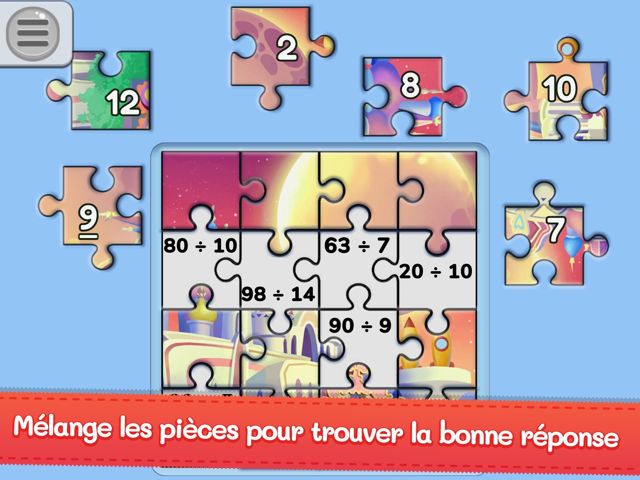 Mes Puzzles De Maths – Jeu De Maths Du Cp Au Cm2 ! Pour à Jeux Pour Cm2