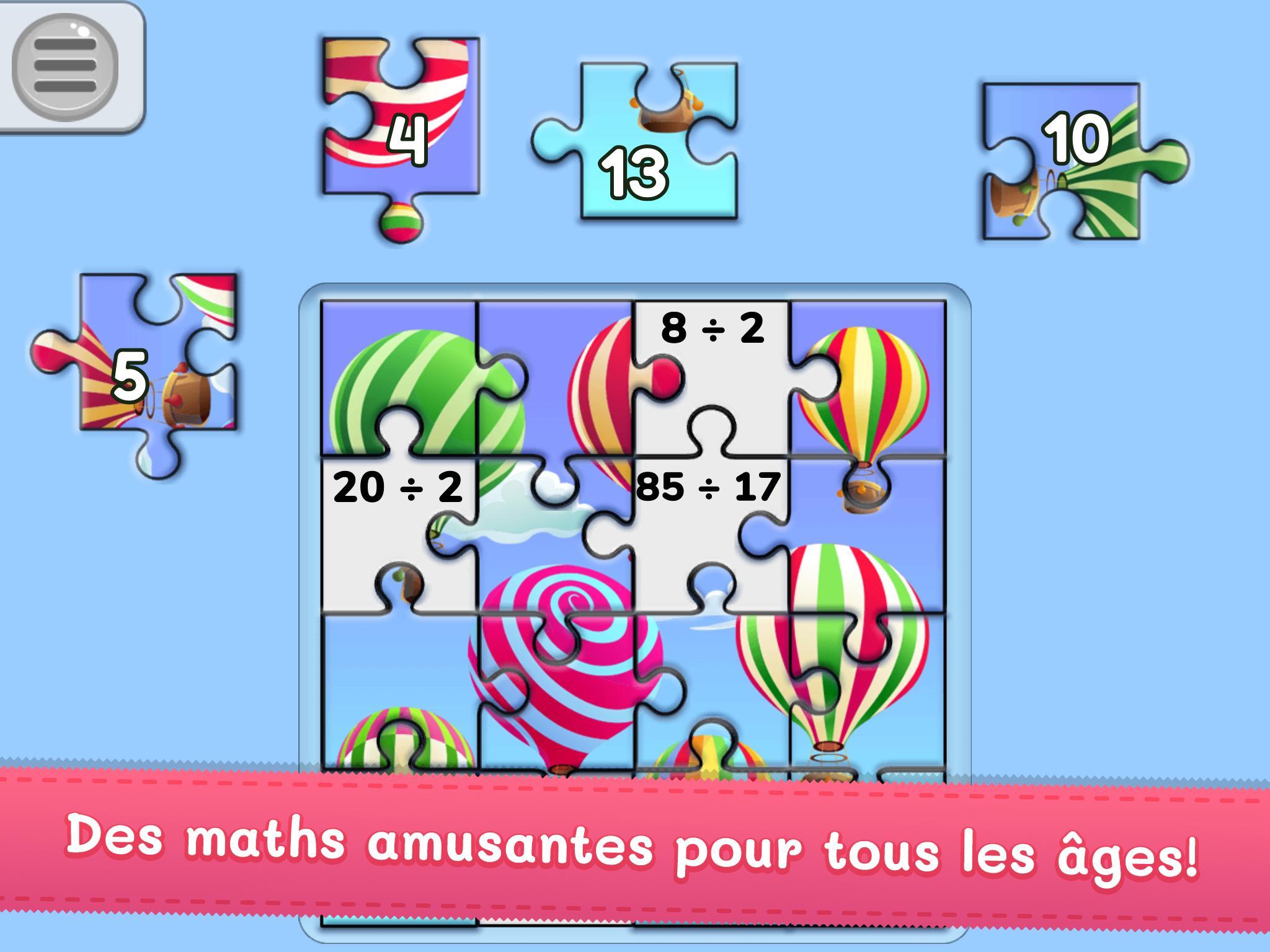Mes Puzzles De Maths – Jeu De Maths Du Cp Au Cm2 ! Pour intérieur Jeux Pour Cm2