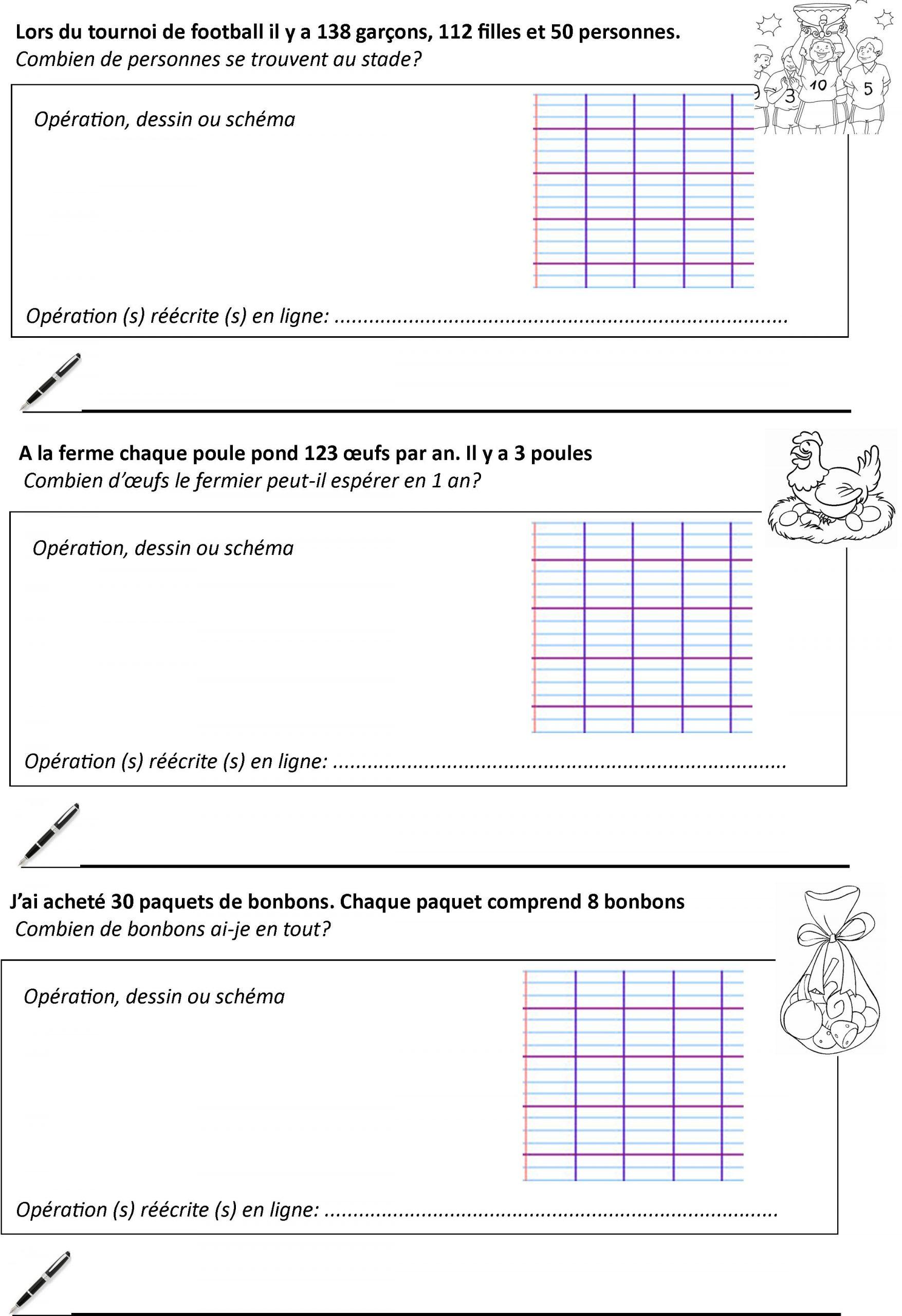 Méthodologie De Résolution De Problèmes Ce2+Petits Problèmes destiné Exercice Problème Ce1