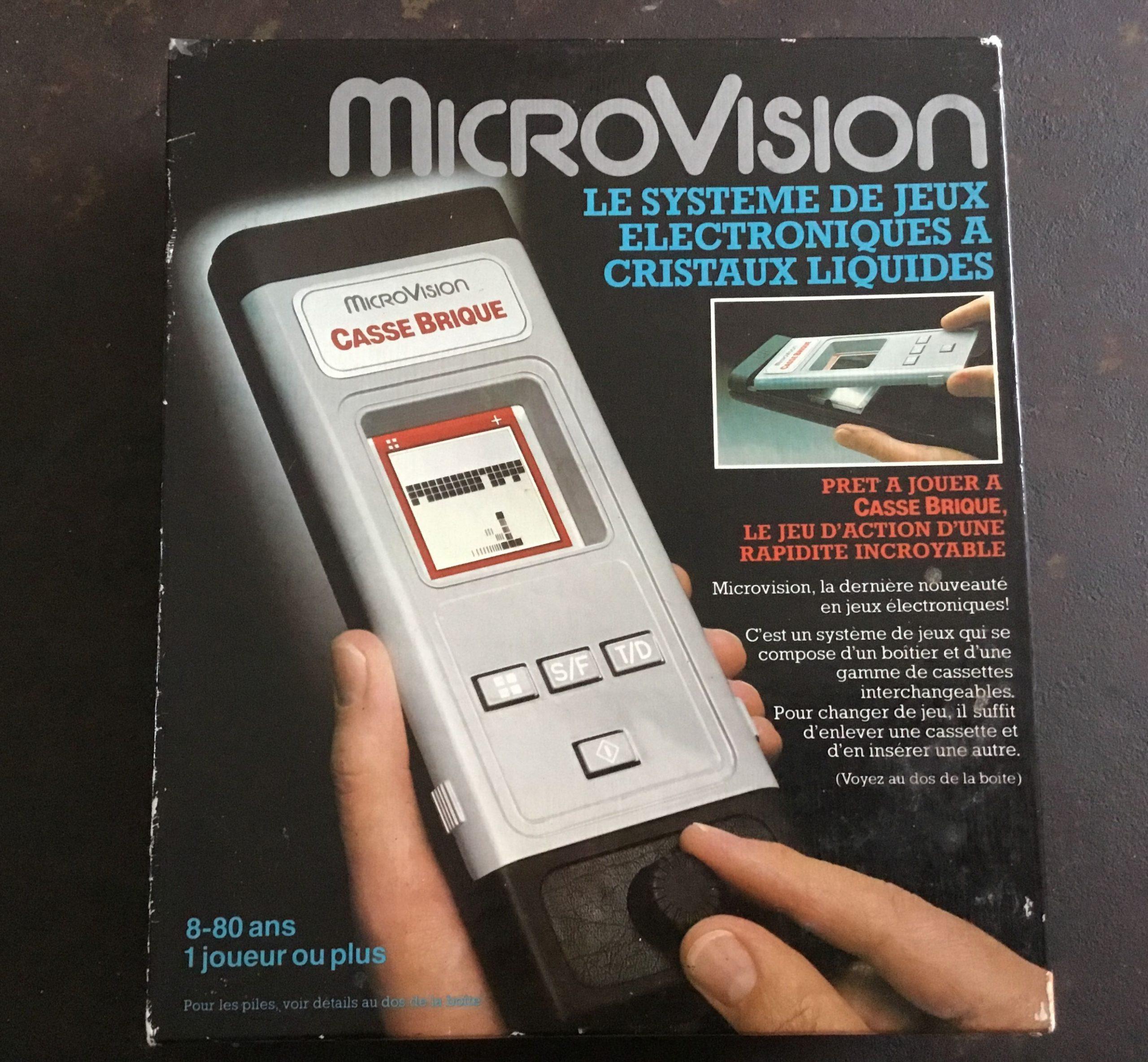 Micro Vision 1979 Mb Casse Brique | Jeux Electronique, Casse pour Jouer Au Casse Brique