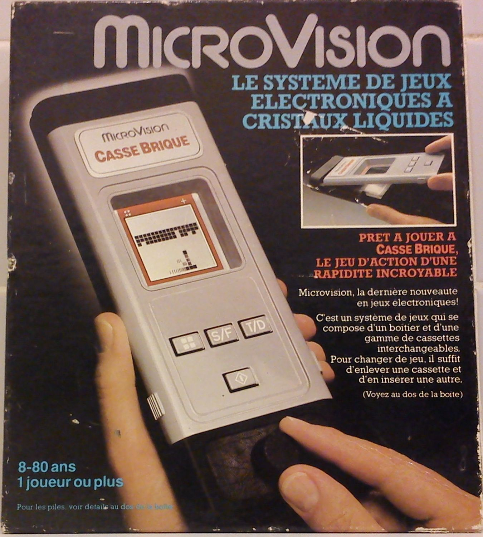 Microvision - Milton Bradley - 1979 - La Première Console serapportantà Jouer Au Casse Brique