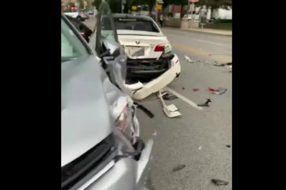 Mls: Mavinga Publie Une Vidéo De Son Terrible Accident De encequiconcerne Jeux De Accident De Voiture