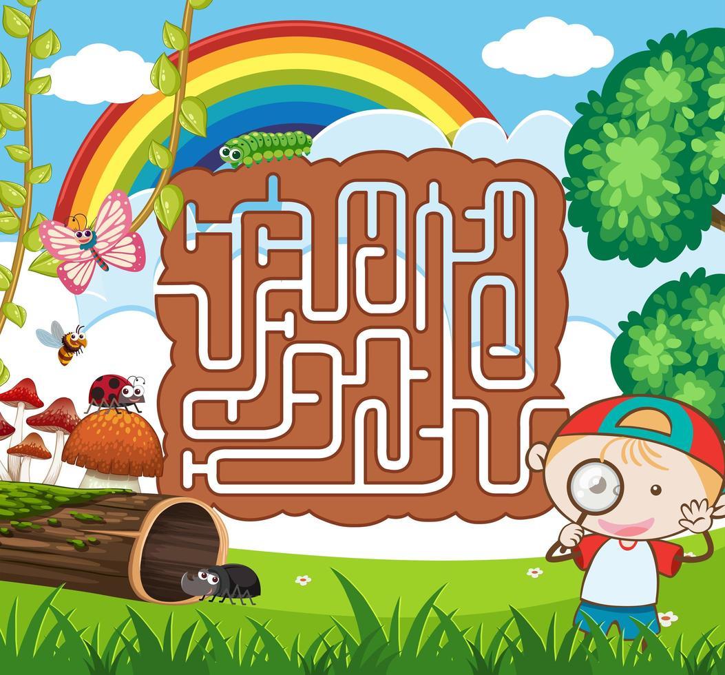 Modèle De Jeu De Puzzle De Labyrinthe Nature - Telecharger serapportantà Jeu De Puzzl Gratuit