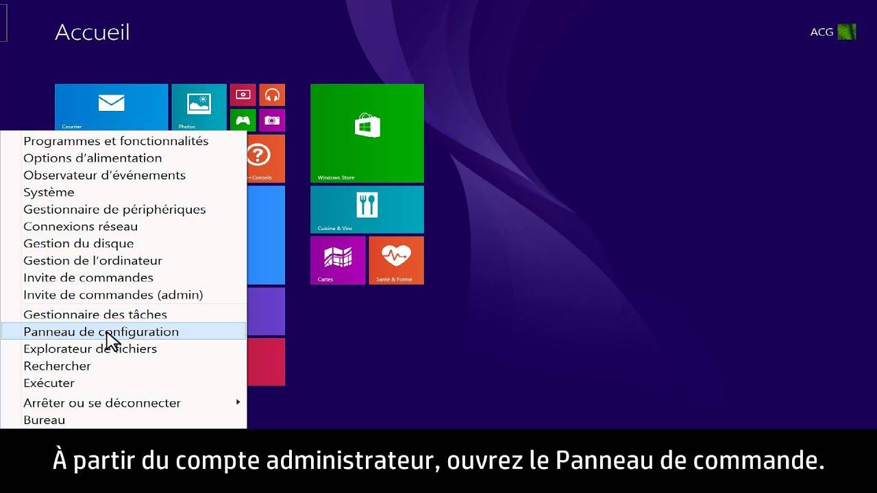 Modifier Le Mot De Passe D'un Compte Utilisateur Local Windows 8 Depuis Un  Compte Administrateur intérieur Ordi Mots