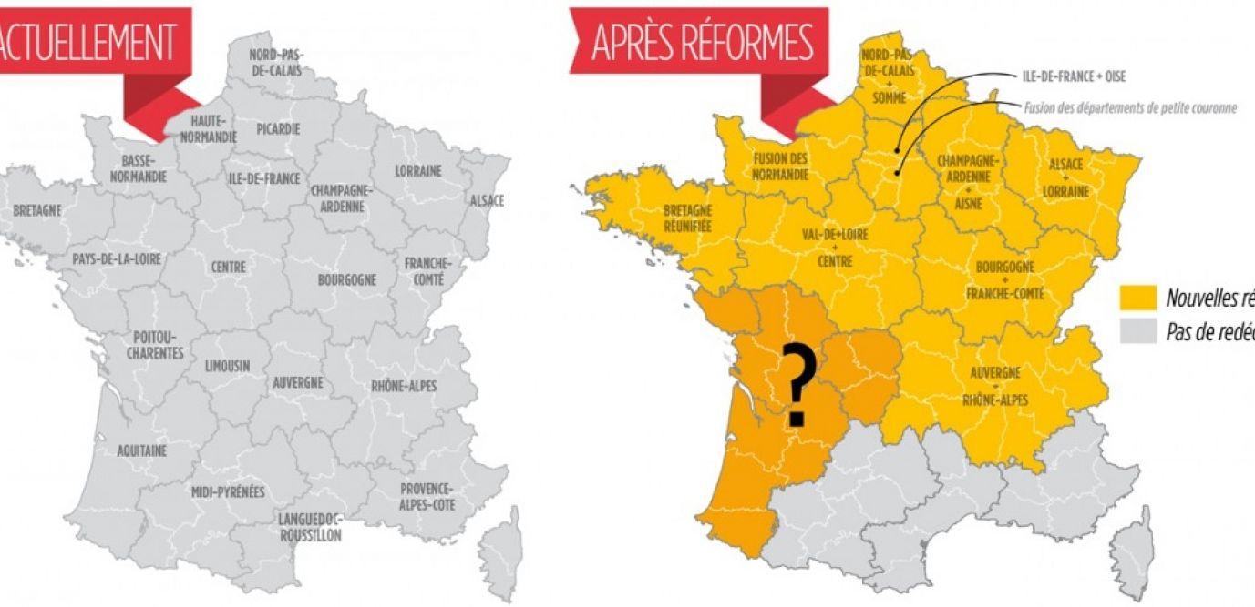 Moins De Régions ? Le Découpage Territorial, Un Héritage concernant Le Découpage Administratif De La France