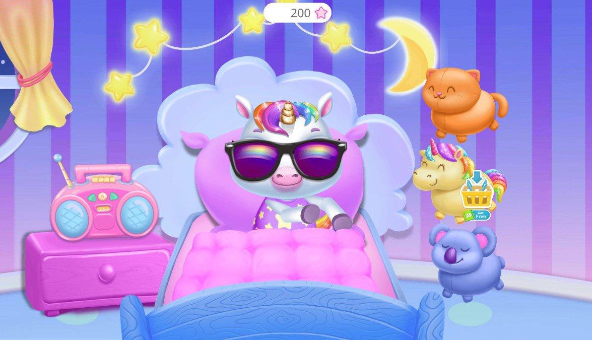 Mon Bébé Licorne 9.0.3 - Télécharger Pour Android Apk dedans Jeux De Bébé Virtuel