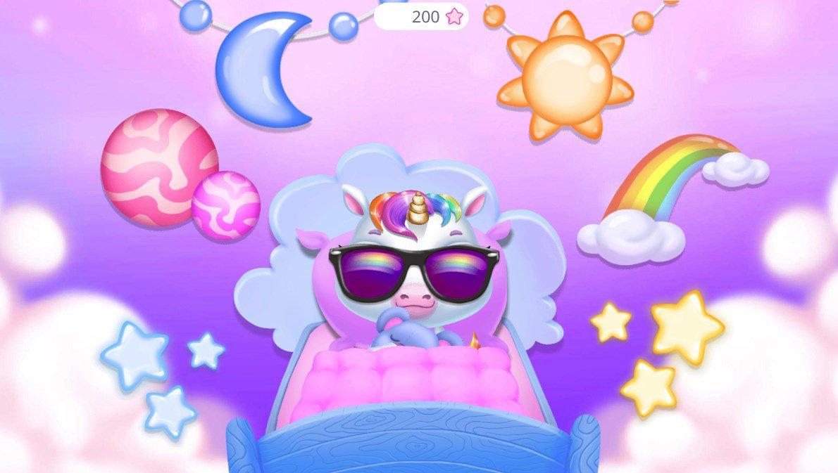 Mon Bébé Licorne 9.0.3 - Télécharger Pour Android Apk destiné Jeux De Bébé Virtuel