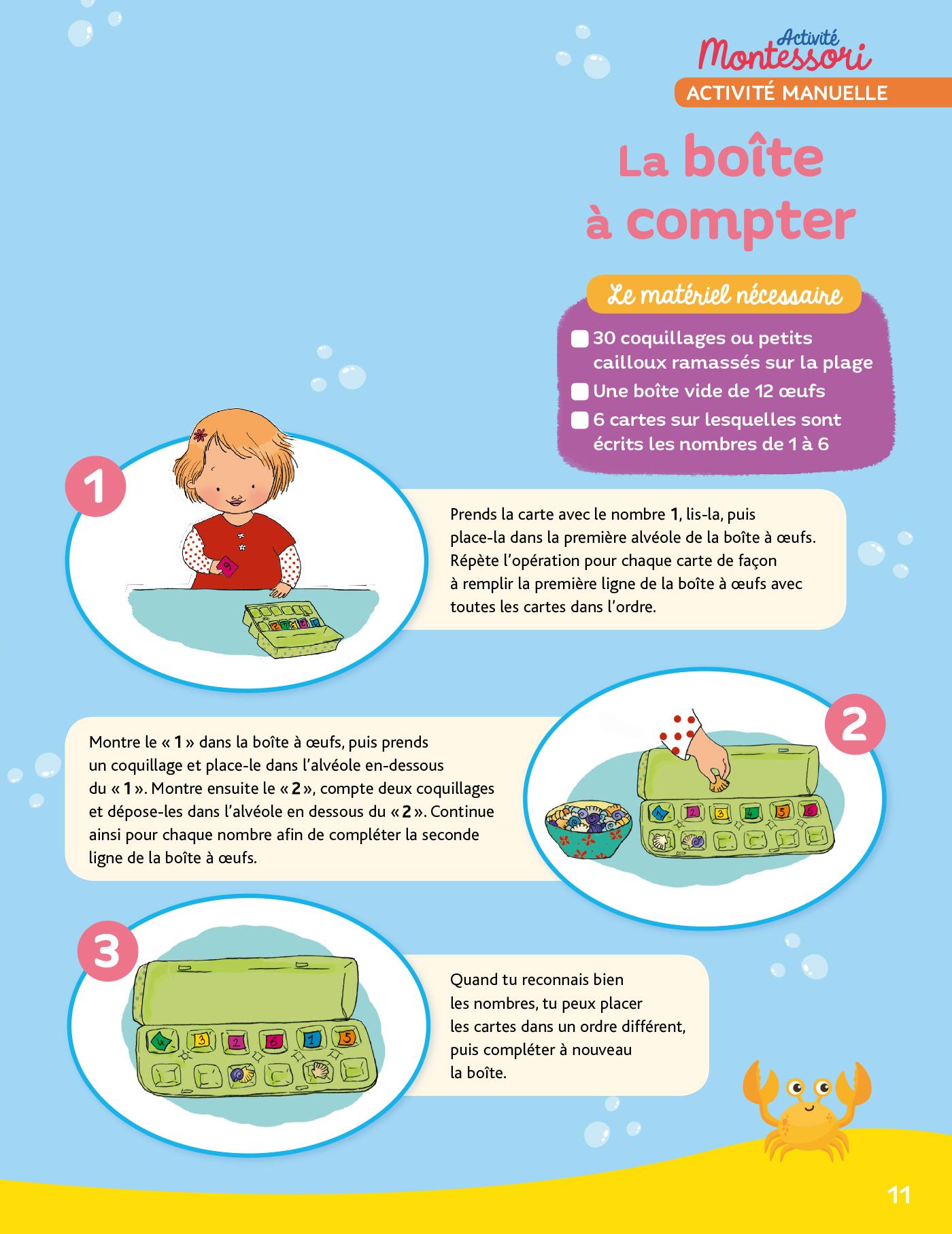 Mon Cahier De Vacances Montessori 5/6 Ans tout Cahier De Vacances En Ligne
