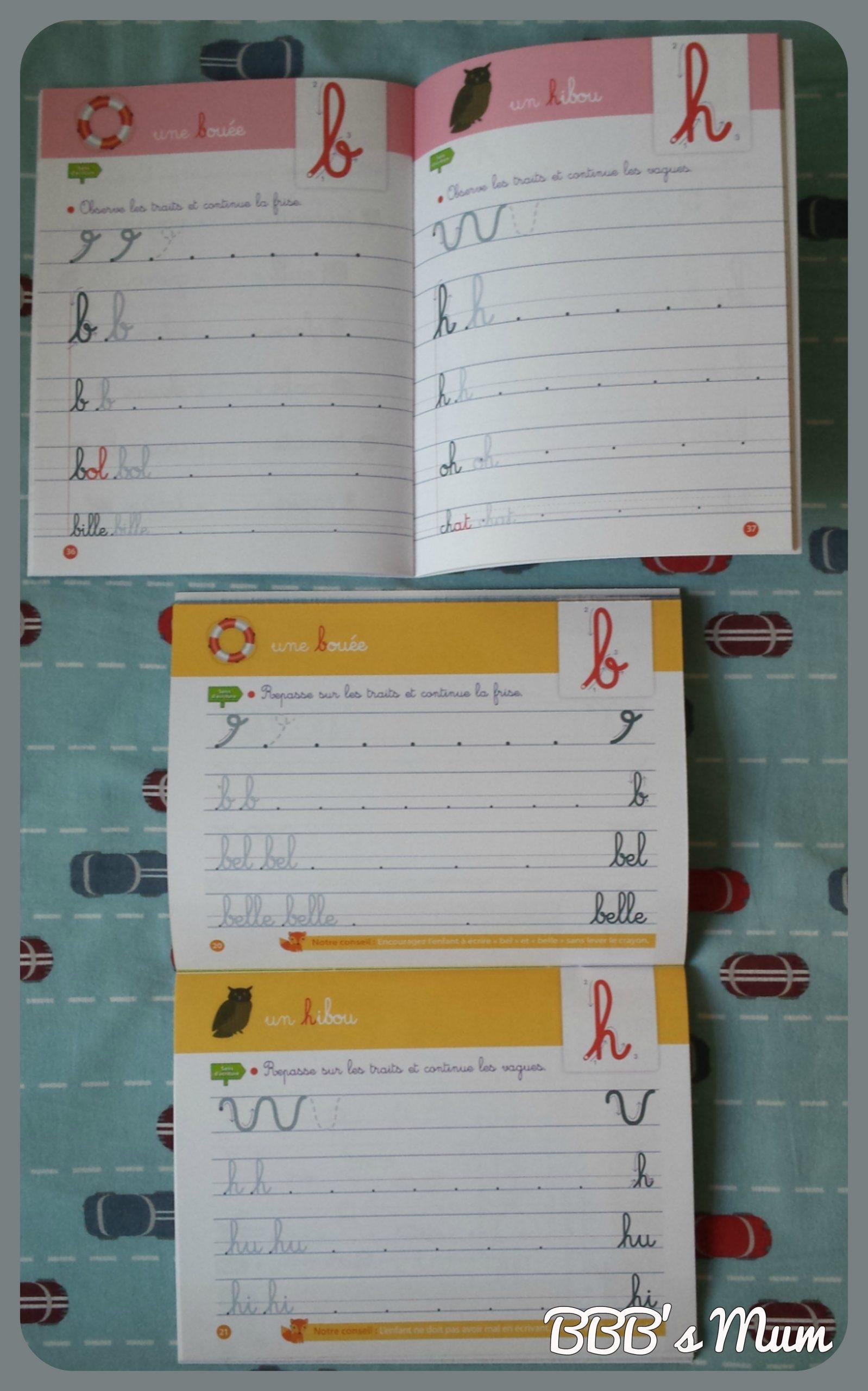 Mon Cahier Décriture Petites Lettres Dès 5 Ans Broché – 8 à Cahier D Écriture Maternelle