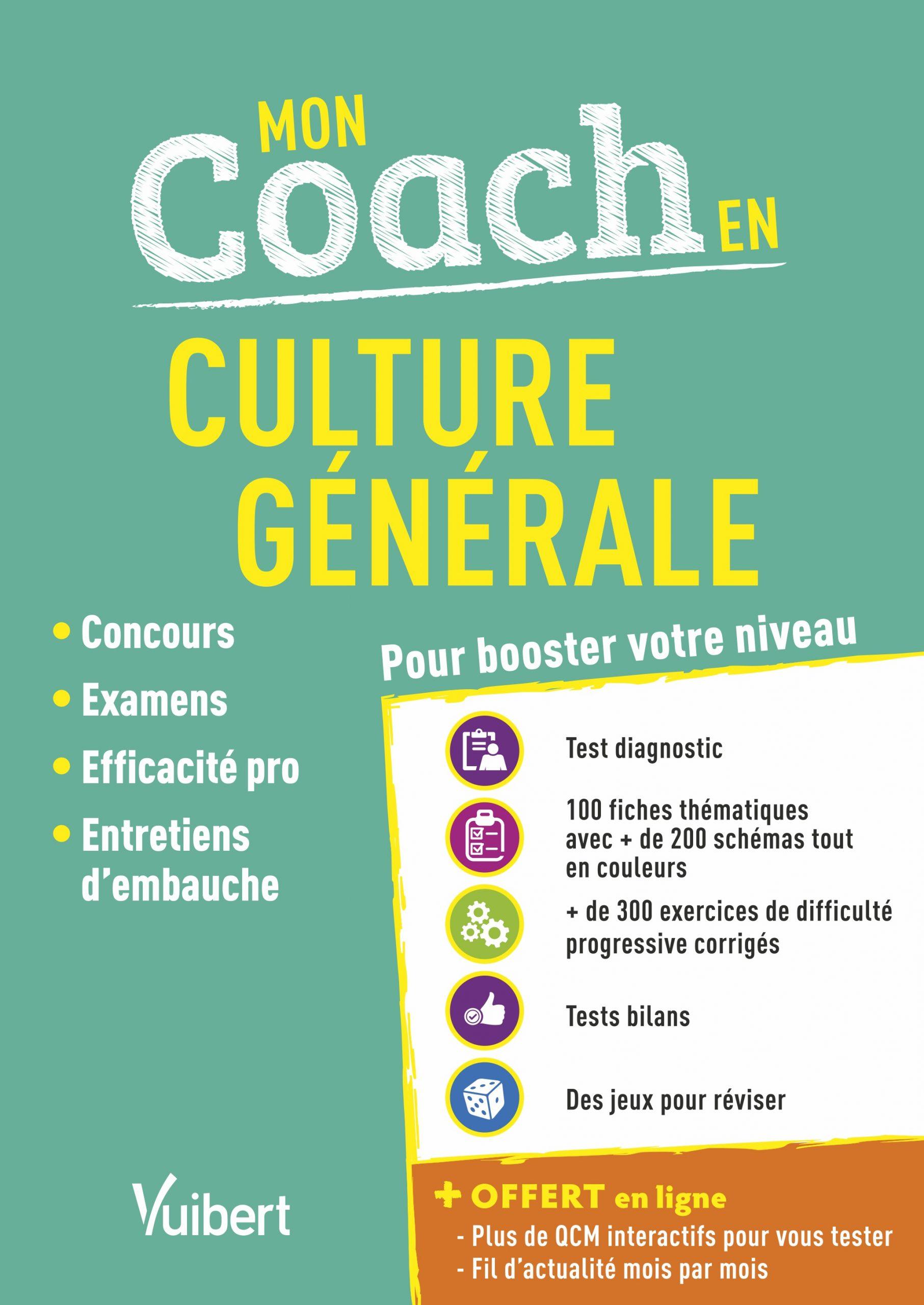 Mon Coach En Culture Générale - Fil D'actu Offert à Jeu Culture Générale En Ligne