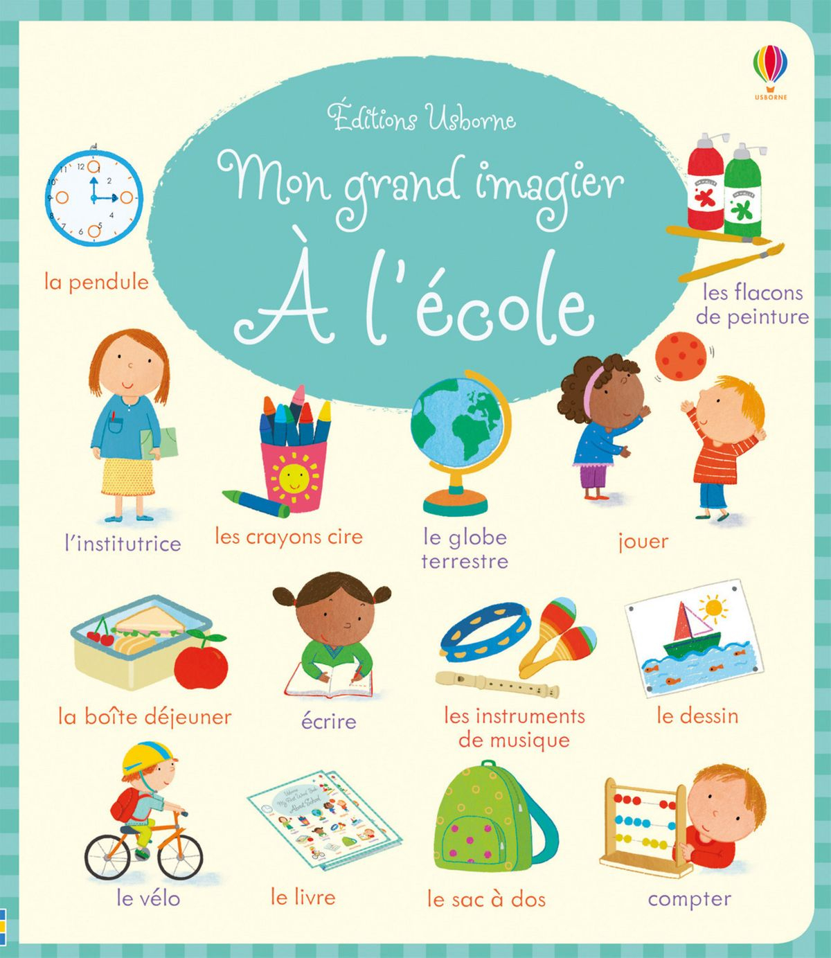 Mon Grand Imagier - A L'école Ebook By Holly Bathie - Rakuten Kobo destiné Imagier Ecole