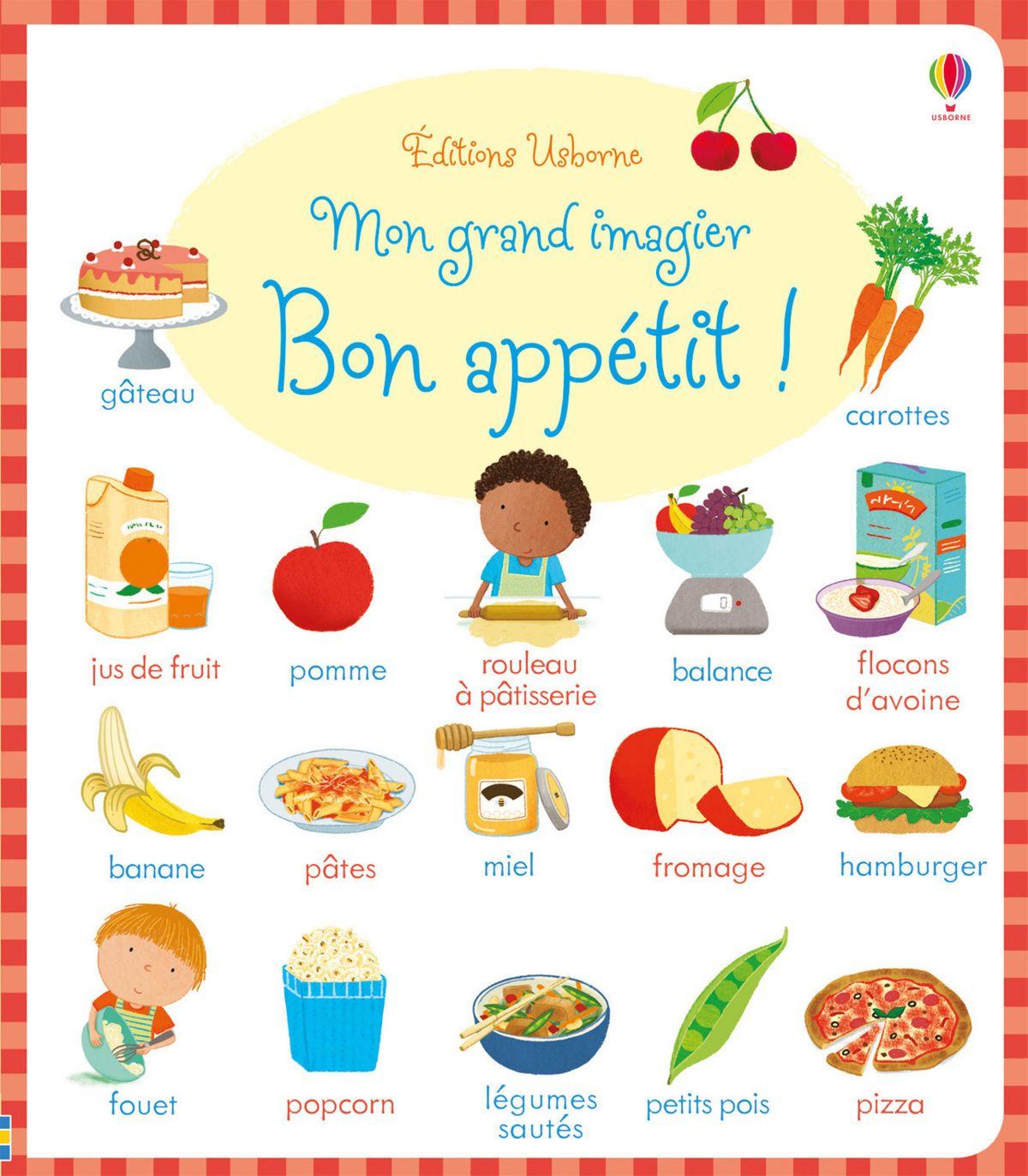Mon Grand Imagier - Bon Appétit ! Ebook By Caroline Young - Rakuten Kobo encequiconcerne Imagier Ecole