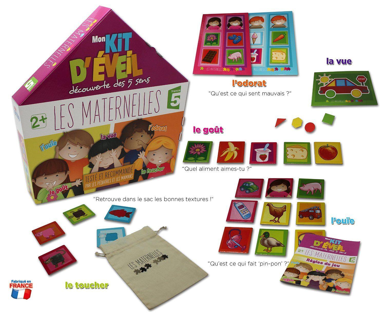 Mon Kit D'éveil Découverte Des 5 Sens Les Maternelles : Avis encequiconcerne Jeu Des Cinq Sens