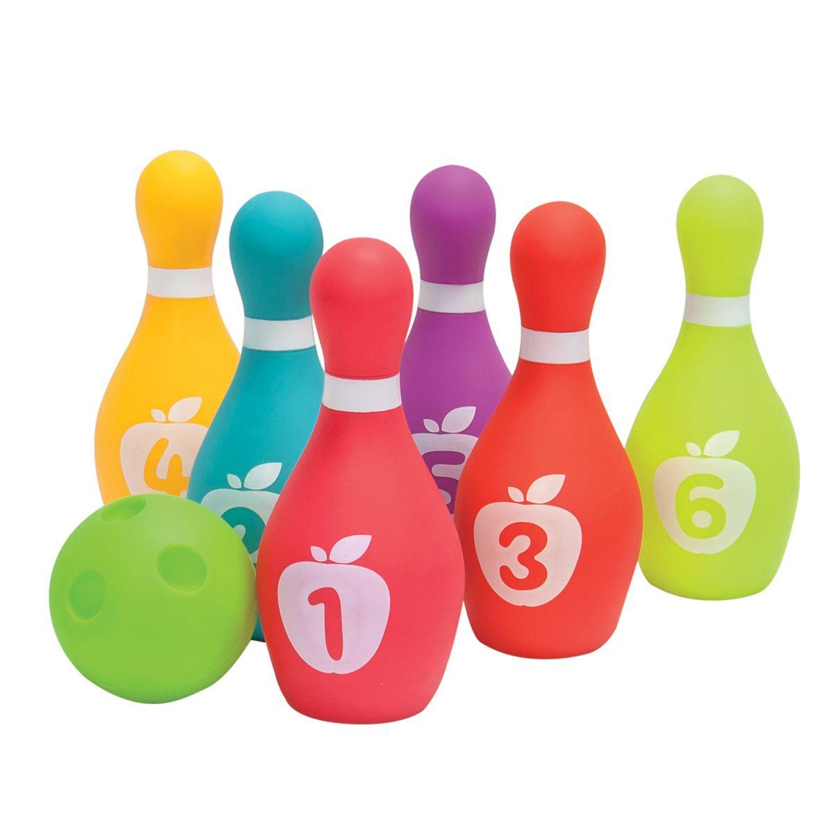 Mon Premier Jeu De Quilles - Balles Et Jouets À Balles - La concernant Jeu Bowling Enfant